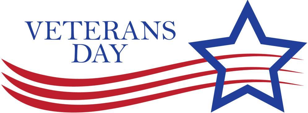 Observe Veterans Day - November 11, 2020