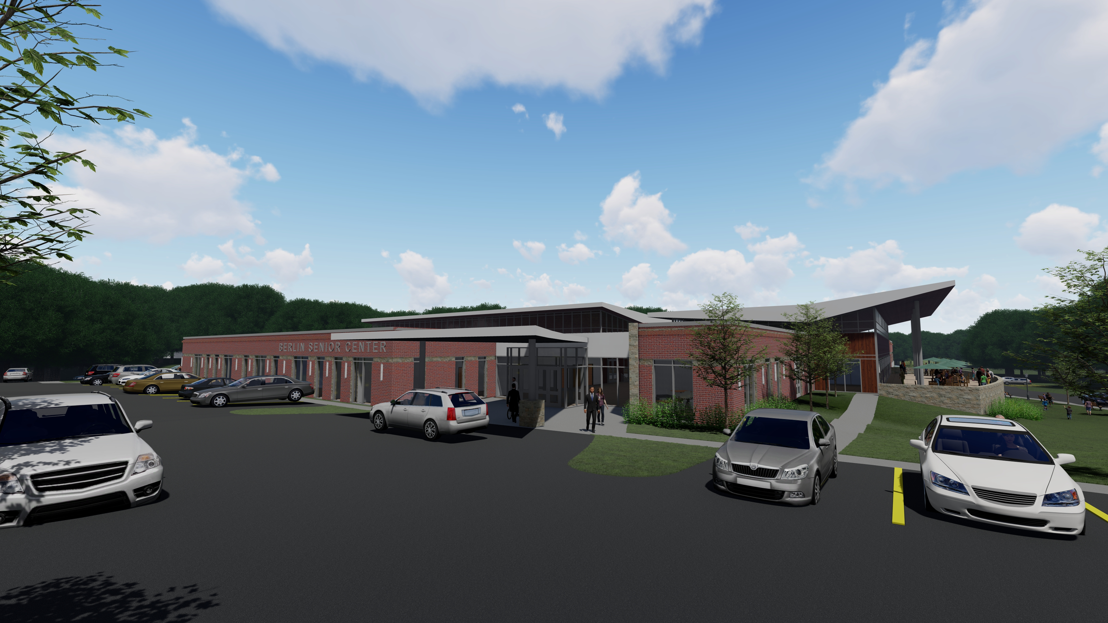 Design and Construction of the proposed Berlin Community and Senior Center